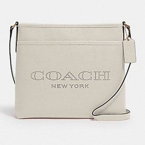 COACH | FILE BAG WITH COACH PRINT